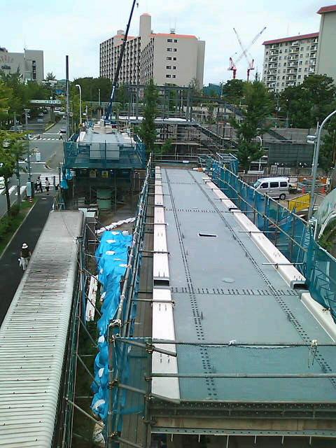 桃山台駅(H21.7)